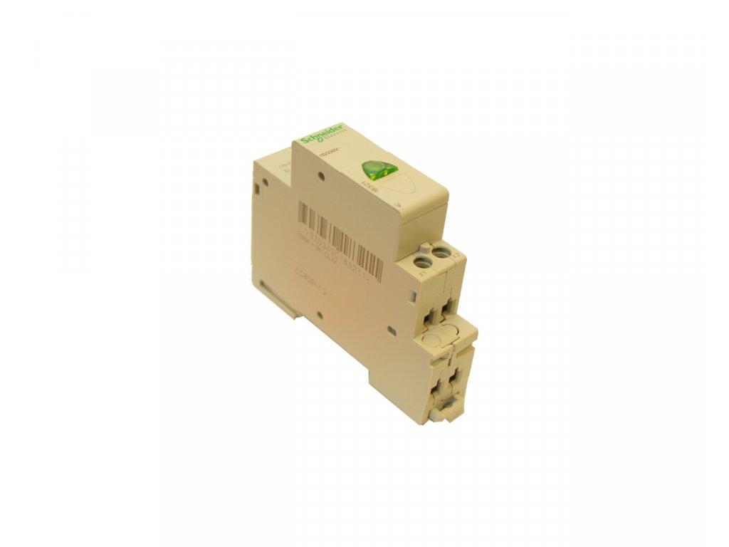 Kontrolka na DIN lištu -- zelená 230 V