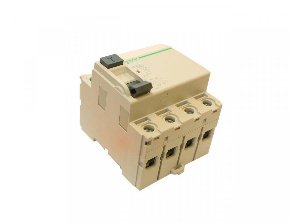 Chránič proudový 4 pólový, 40 A/30 mA