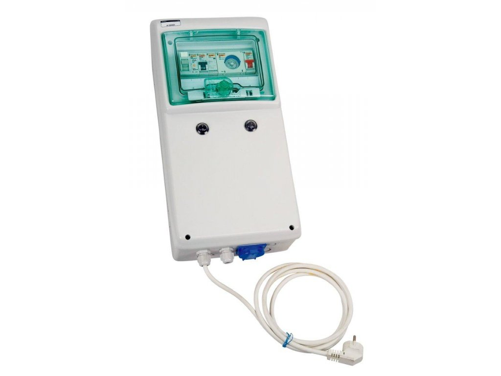 Automatické ovládání pro filtraci/trafo/světlo - F1/600W