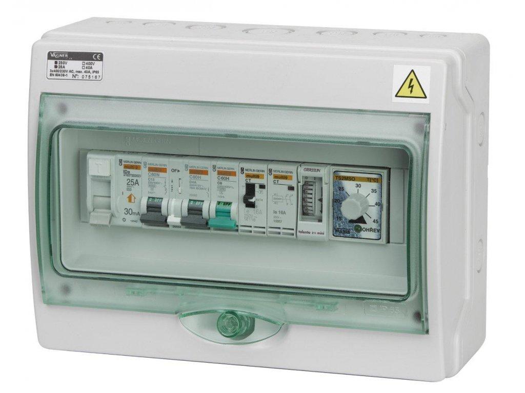 Automatické ovládání pro filtraci/výměník - F1VDIGI