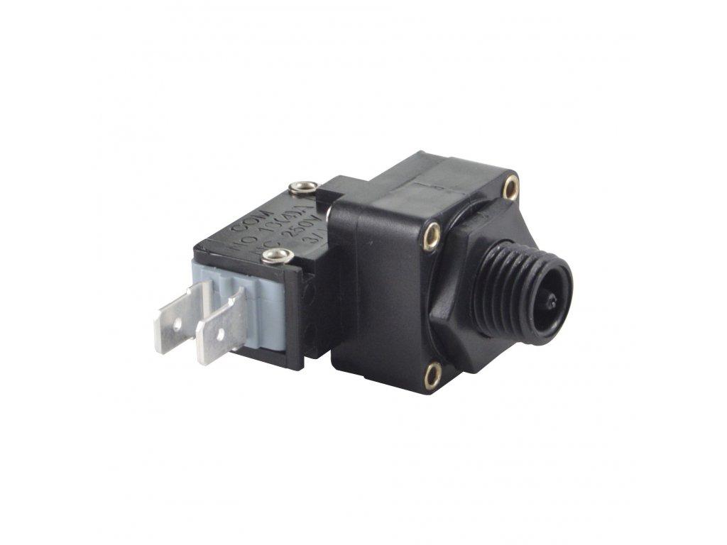 Pneumat. spínací jednotka pro malý tlak (držící) 2PIN