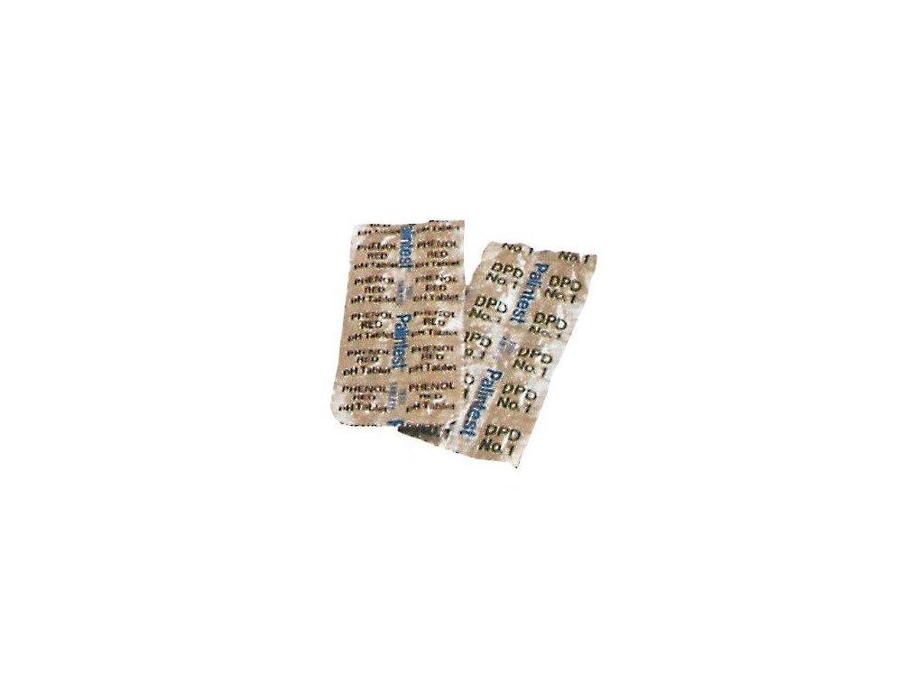Test tablety DPD phenol red pH – 10 ks