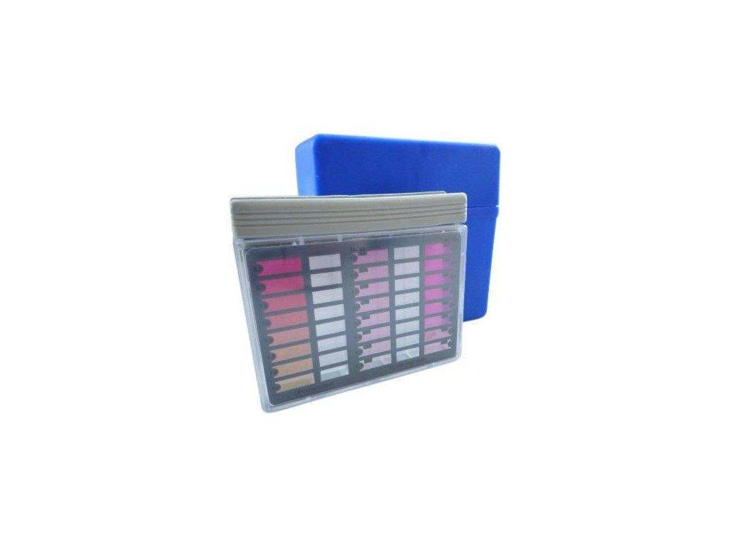 """Tester DPD """"FR"""" -- Cl/pH -- metoda pomocí tablet,balení: pouzdro"""