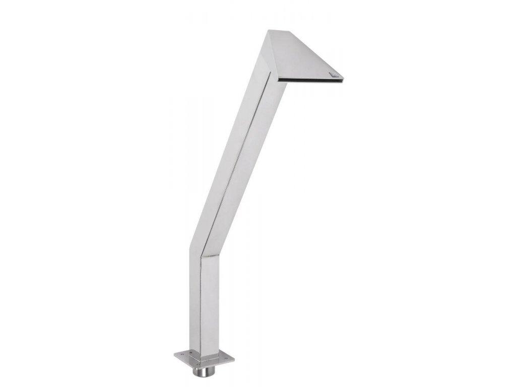 Chrlič - Kačer 400 mm, nerez, připojení 63 mm, povrch zrcadlový lesk