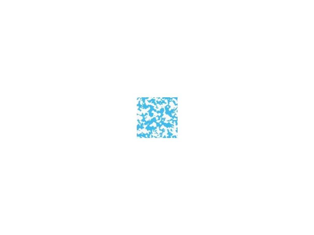 Fólie pro vyvařování bazénů - DLW NGD - modrá mramor, 1,65m šíře, 1,5mm, metráž