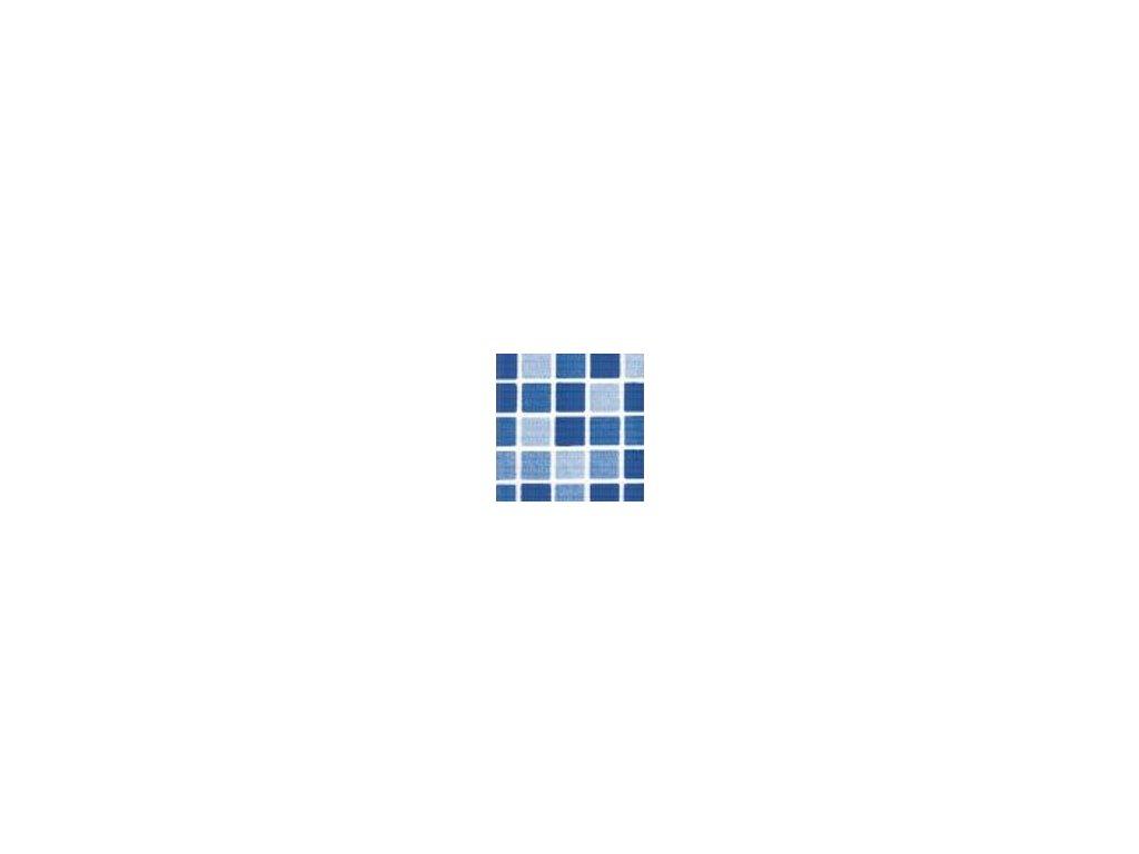 Fólie pro vyvařování bazénů - DLW NGD - mozaika Aqua, 1,65m šíře, 1,5mm, metráž