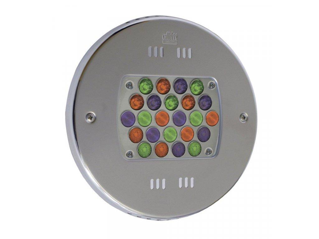 Podvodní LED světlo 24 x 3 W (světlo - barevné RGB)