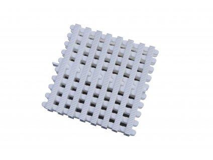 Přelivový rošt Bílý - šířka 196 mm, výška 35 mm (43 ks/m)