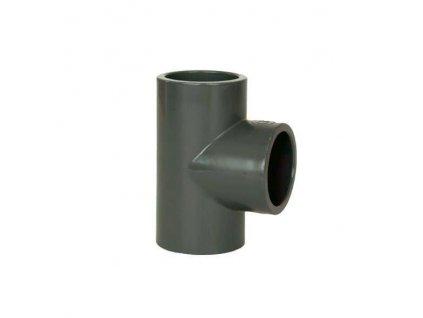 PVC tvarovka - T-kus 90° 32 mm