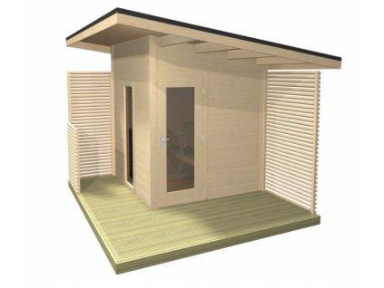 Venkovní sauna Solide Compact ELECTRIC