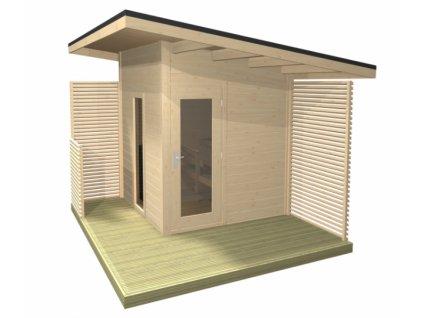 Venkovní sauna Solide Compact