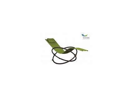 Vivere - Orbital Lounger Single # Green Apple