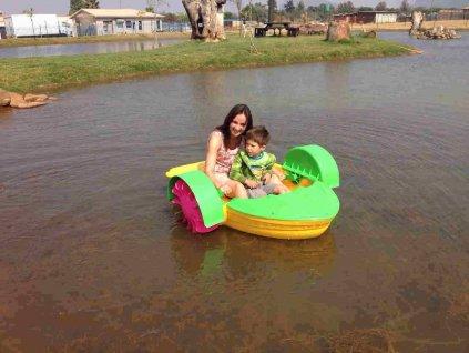 Hot Sale Adult Aqua Paddler Boat Kids Paddler Boat Paddle Boat for Sale