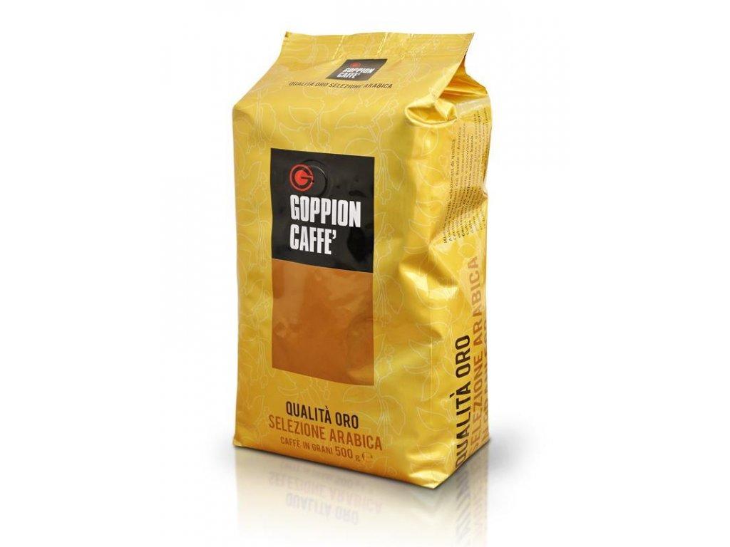Goppion Qualitá Oro 500g zrnková káva
