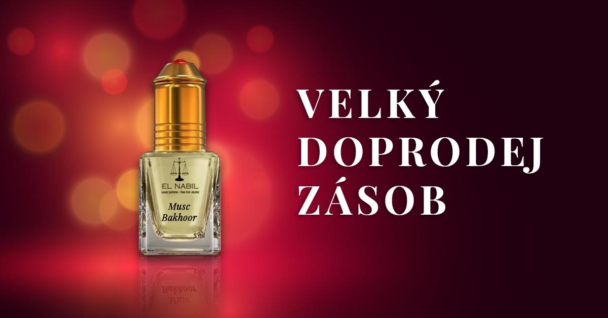 Velký doprodej parfémů