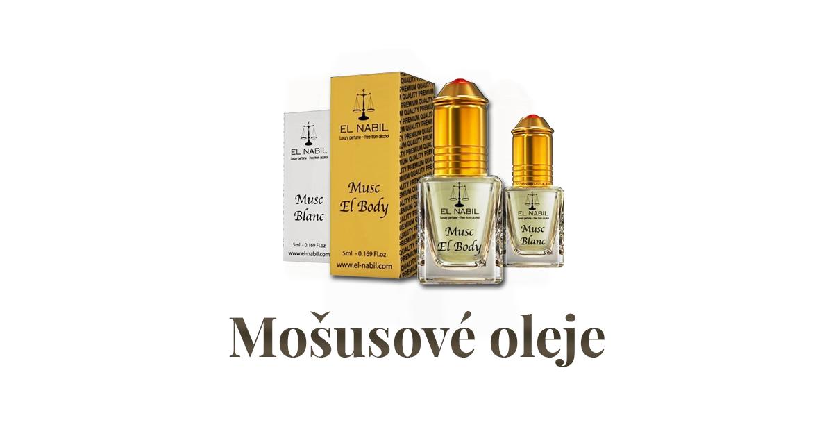 Mošusové parfémové oleje
