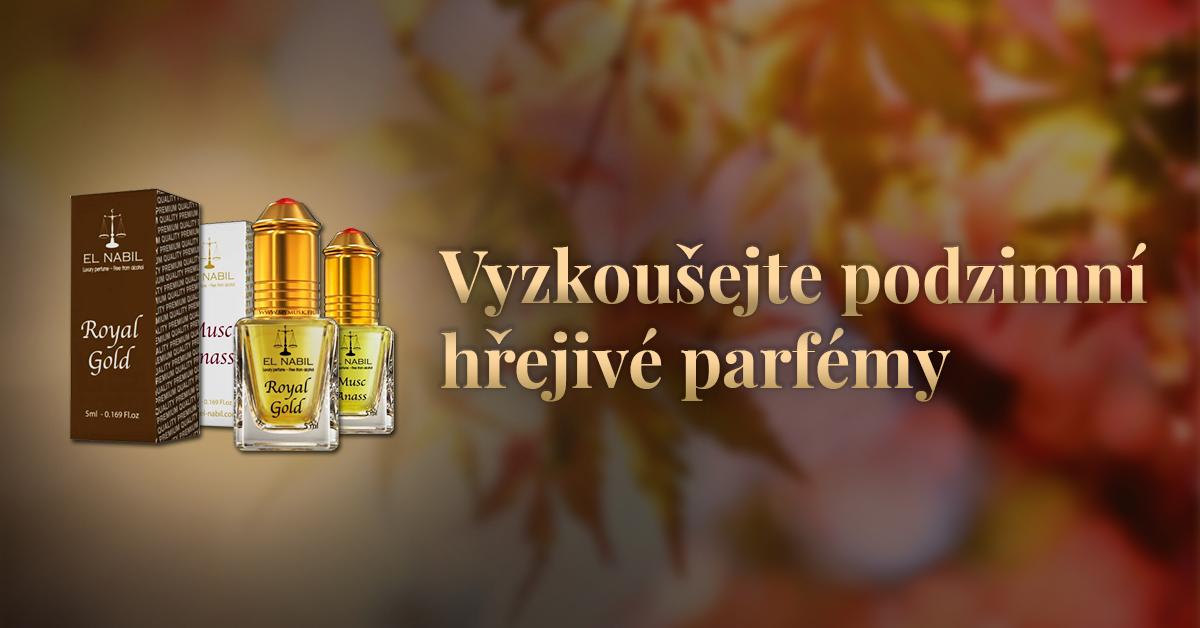 Hřejivé parfémy na podzim a zimu