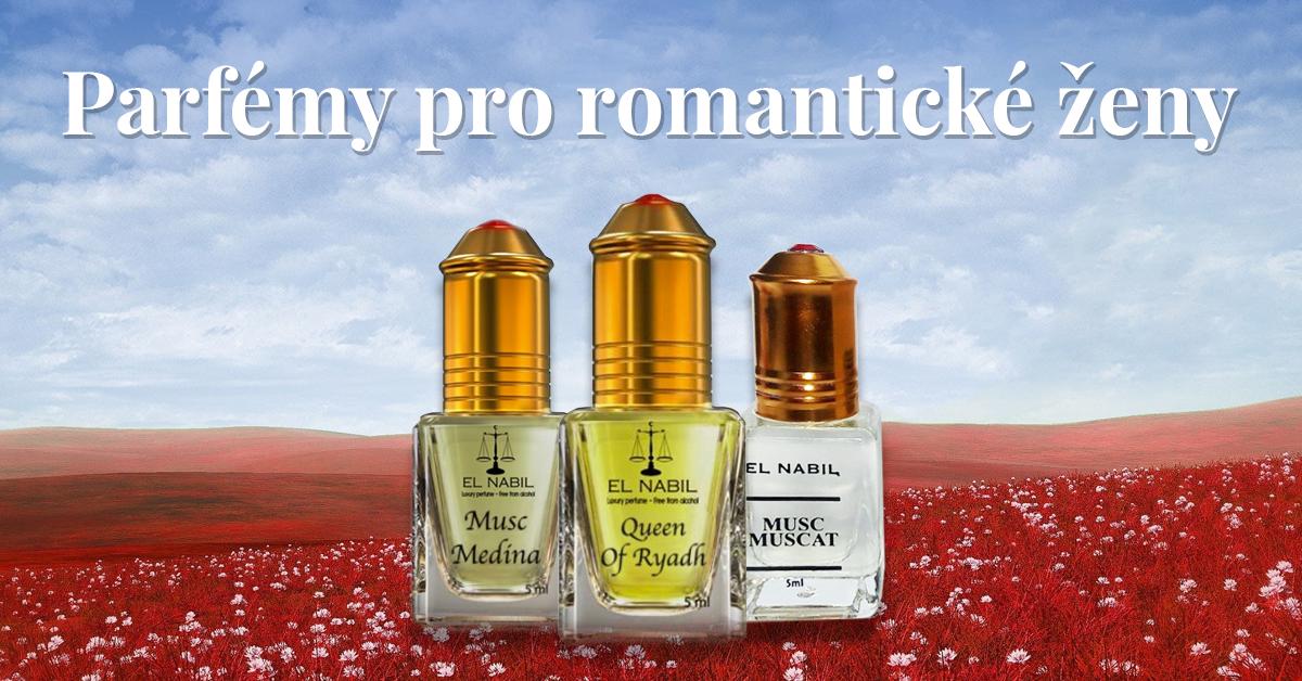 Sada romantických parfémů pro ženy  - Musc Muscat, Queen of Ryadh, Musc Medina
