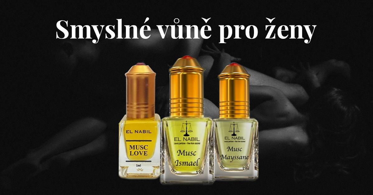 Smyslné parfémy pro ženy