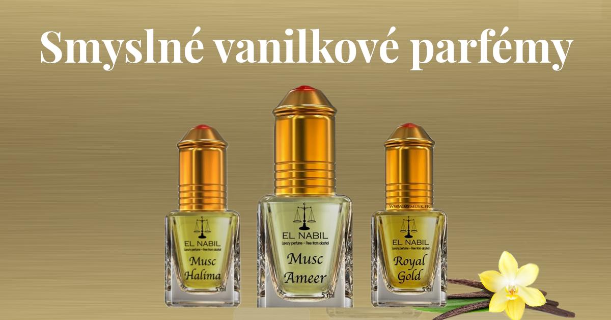 Vanilkové parfémy