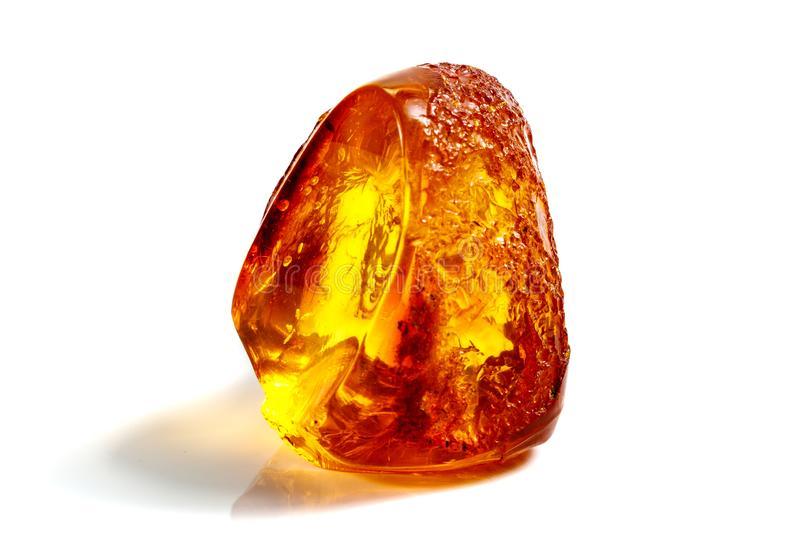 macro-ambra-minerale-di-pietra-con-gli-insetti-le-mosche-e-scarabei-su-una-fine-bianca-del-fondo-un-bianco-144735765