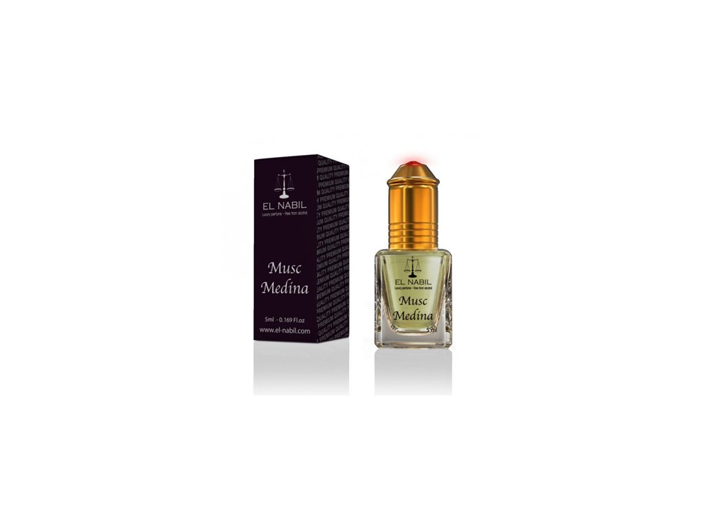 El Nabil - Musc Medina - Parfémový olej - Pro Ženy