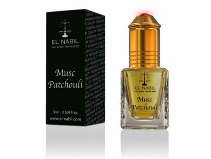 El Nabil - Musc Patchouli - Parfémový olej