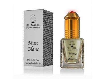 El Nabil - Musc Blanc - mošusový parfémový olej - Pro ženy