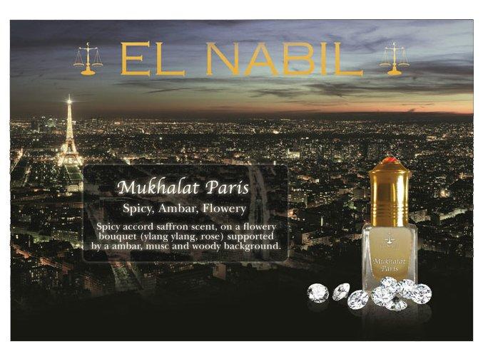 Mukhalat Paris parfémový olej