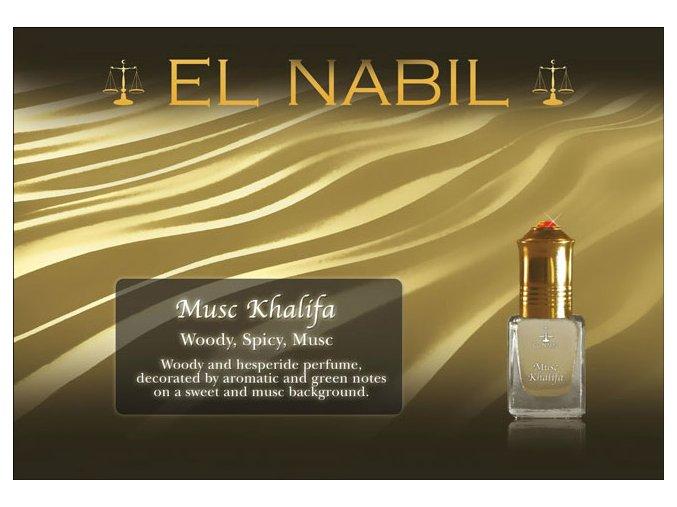 El Nabil - Musc Khalifa - Parfémový olej
