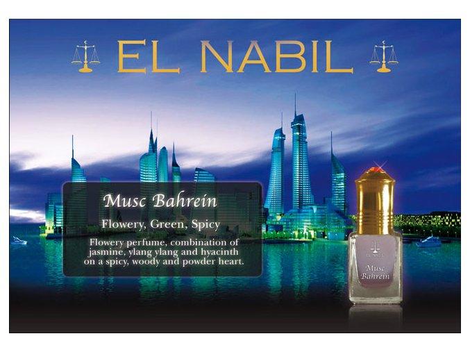 Musc Bahrein parfémový olej