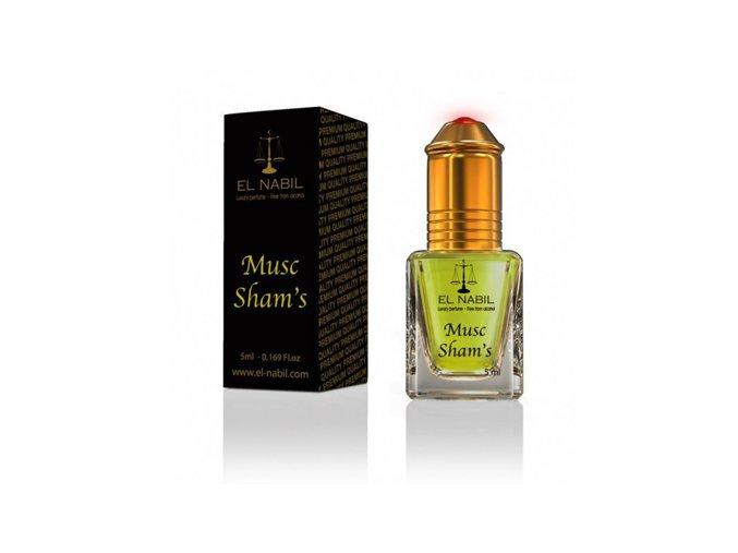 El Nabil - Musc Sham´s  - Parfémový olej - Dámský