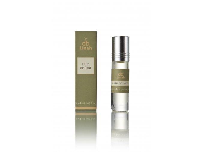 Linah - Cuir Brulant - Parfémový olej - Unisex