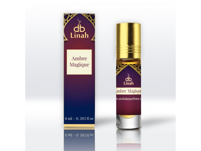 Linah - Ambre Magique - Parfémový olej - Unisex