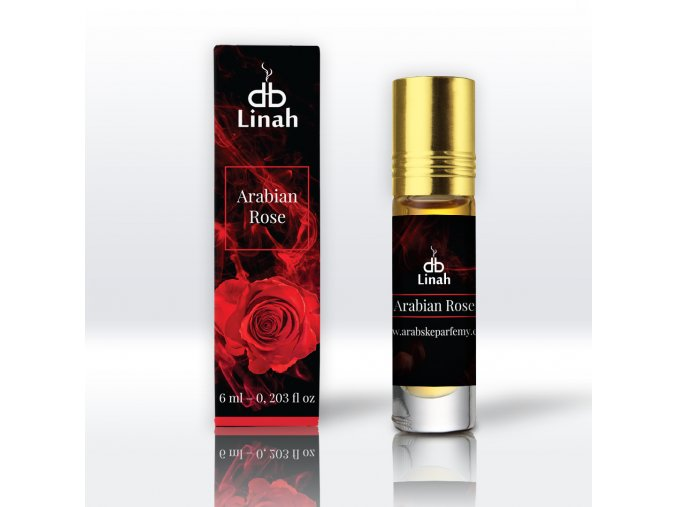 Linah - Arabian Rose - Parfémový olej - Unisex