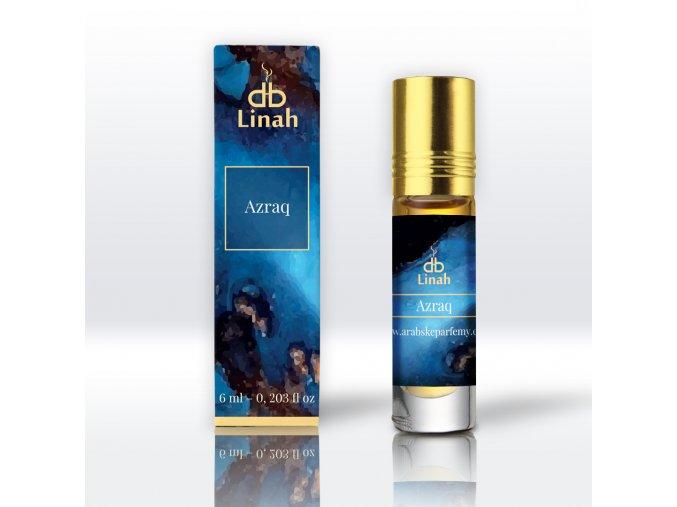 Linah - Azraq - Parfémový olej - Pánský