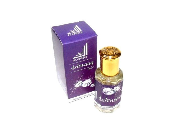 Ashwaaq - koncentrovaný parfémový olej pro ženy
