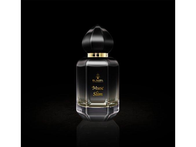 Musc Slim parfémová voda 50 ml poničená etiketa na krabičce