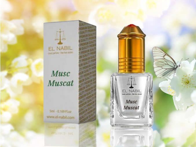 Musc Muscat parfémový olej El Nabil