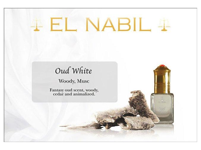 El Nabil - Oud White - koncentrovaný parfémový olej unisex