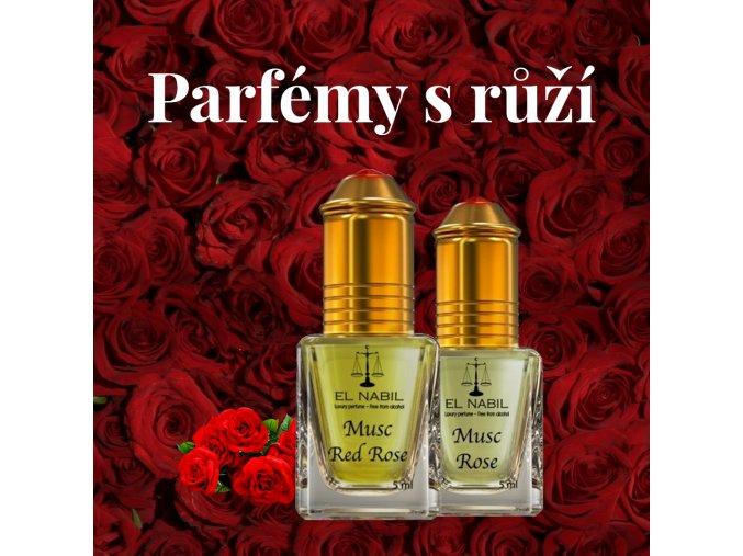 sada parfemy s ruzi