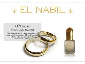 El Arouss parfémový olej