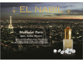 El Nabil - Mukhalat Paris - Parfémový olej - Unisex