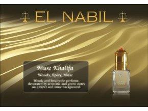 Musc Khalifa parfémový olej
