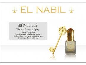 El Mabrouk parfémový olej