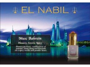 El Nabil - Musc Bahrein - koncentrovaný parfémový olej dámský