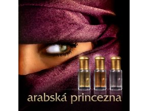 Sada vůní Arabská princezna - Noora, Linna, Al Jawzaa 3 x 3 ml parfémový olej