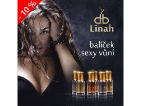 Sada třech sexy smyslných vůní pro ženy - Sadika, Catwalk, Darine 3 x 3 ml