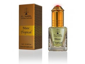 El Nabil - Musc Tropical - Parfémový olej - Dámský