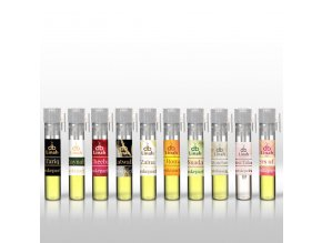 Poskládej si vlastní sadu 10ti vzorků (oleje 0,5 ml a EdP spreje 1 ml)